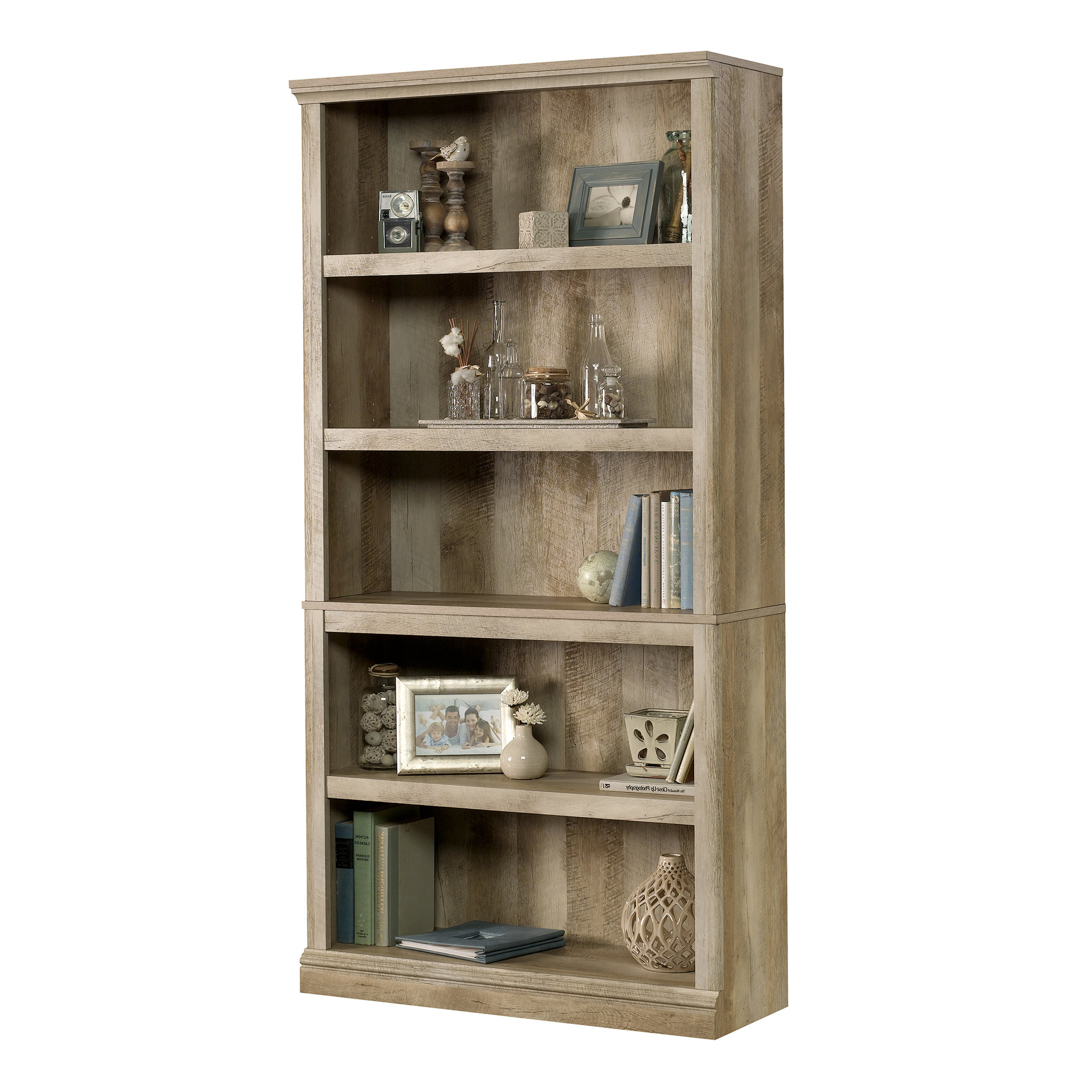 Famous Salina Standard Bookcases In Abigail Standard Bookcase (View 10 of 20)