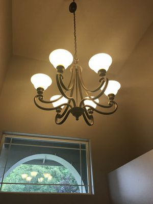 Famous Waldron 5 Light Globe Chandeliers Pertaining To New And Used Chandelier For Sale In Granite Falls, Wa – Offerup (View 6 of 25)
