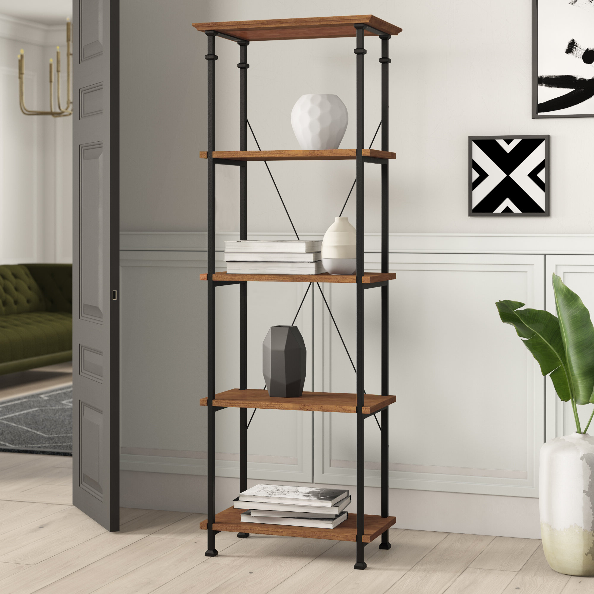 Famous Zona Etagere Cube Bookcase Within Oakside Etagere Bookcases (View 13 of 20)