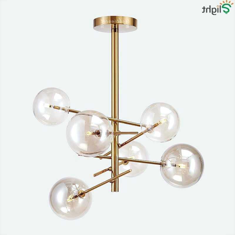 Fashionable 6 Light Globe Chandelier – Luwalcott (View 6 of 25)