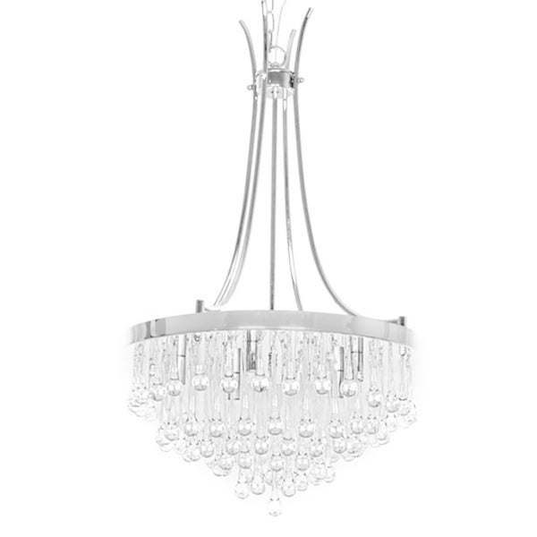 Fashionable Bacchus 12 Light Sputnik Chandeliers Intended For Shop Adorea 5 Light Crystal Chandelier – Free Shipping Today (View 11 of 25)