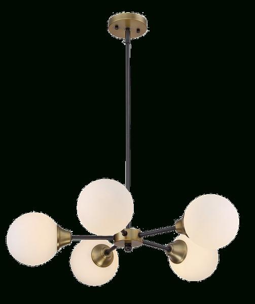 Fashionable Bautista 5 Light Sputnik Chandeliers With Regard To Bautista 5 Light Sputnik Chandelier (View 15 of 25)