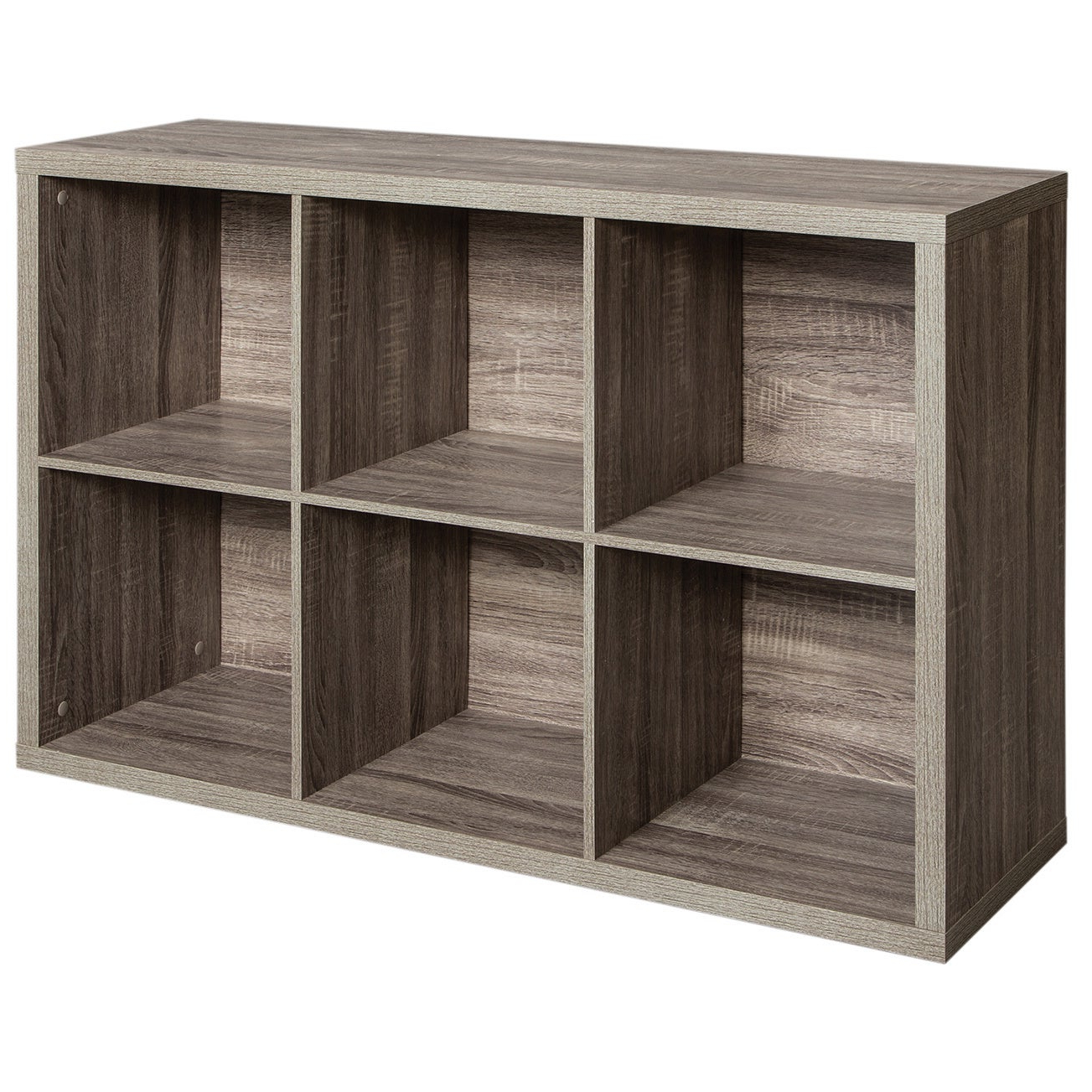 Fashionable Decorative Storage Cube Bookcases Within Closetmaid Decorative Storage 6 Cube Organizer (View 10 of 20)