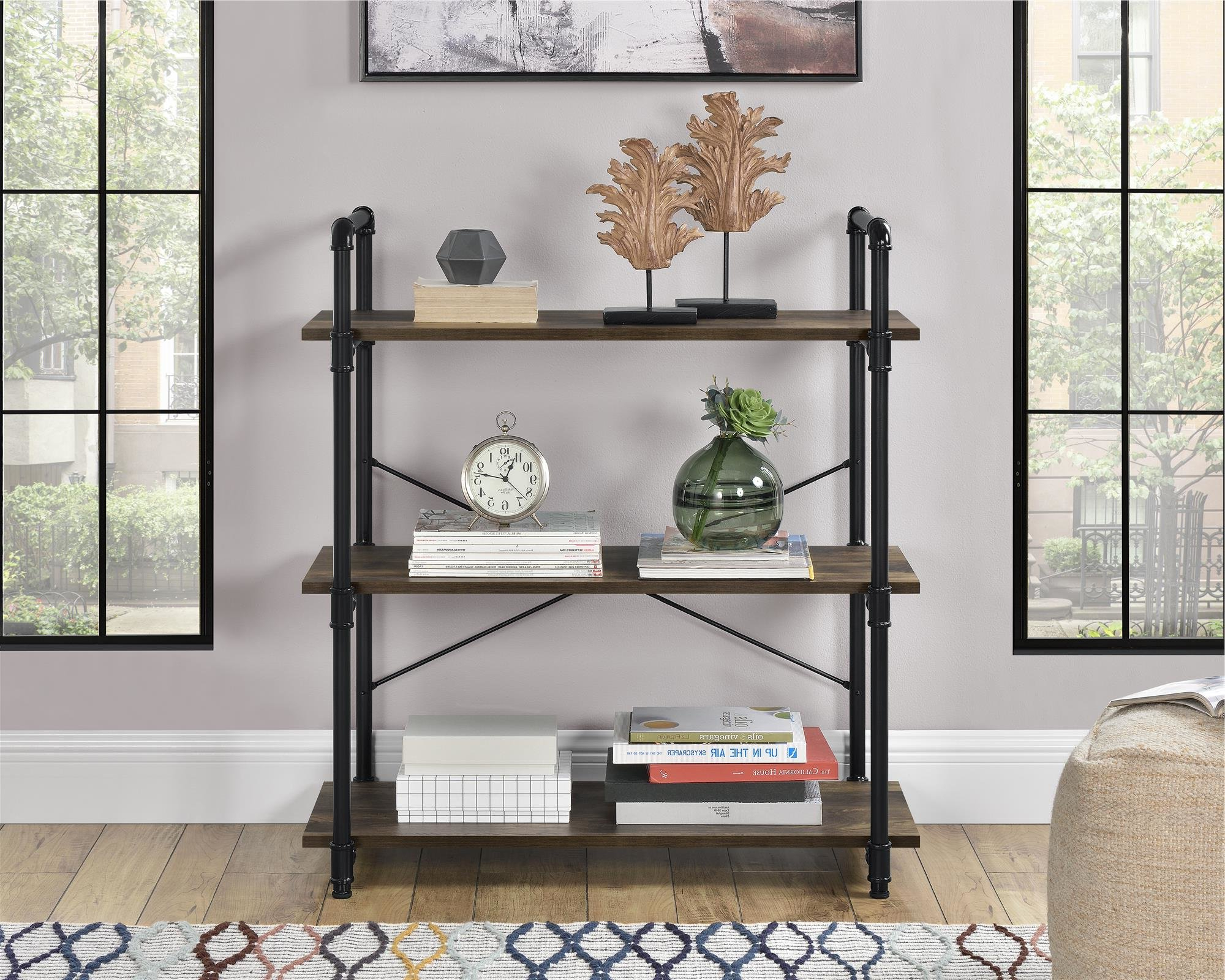 Fashionable Earline Etagere Bookcases Intended For Dodd Etagere Bookcase (View 9 of 20)