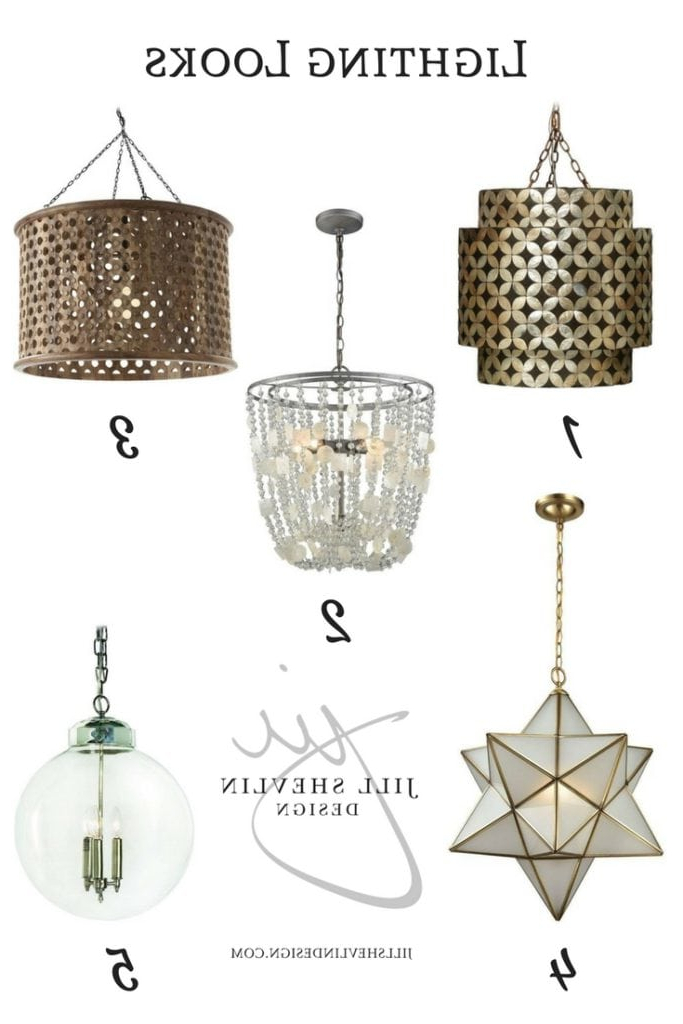 Fashionable Fab Finds – Lighting – Jill Shevlin Design Throughout Jill 4 Light Drum Chandeliers (View 17 of 25)