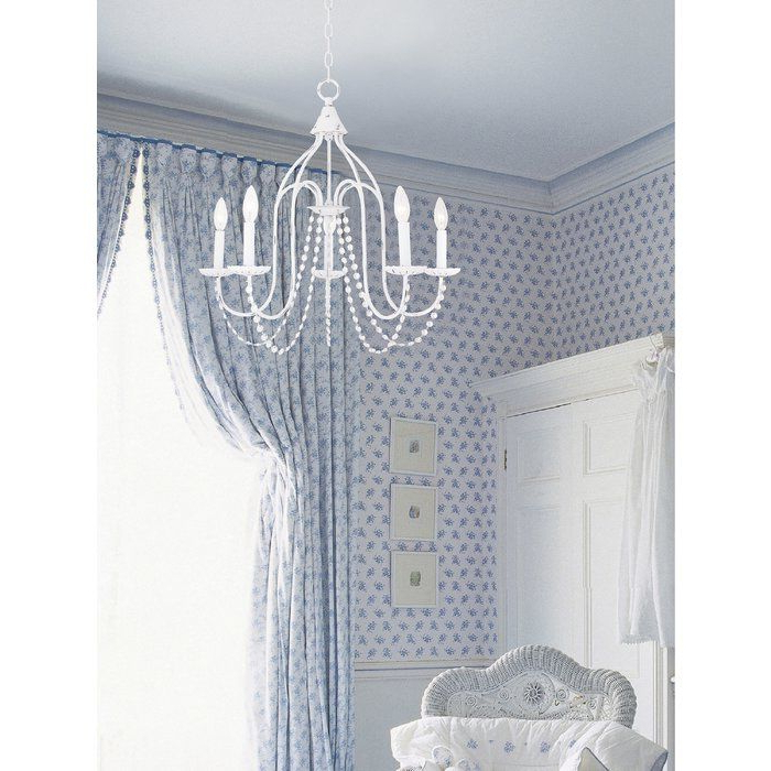 Fashionable Florentina 5 Light Candle Style Chandelier (View 11 of 25)