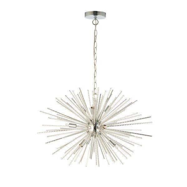 Fashionable Jolie 10 Light Sputnik Chandelier Reviews Allmodern Within Tabit 5 Light Geometric Chandeliers (View 24 of 25)