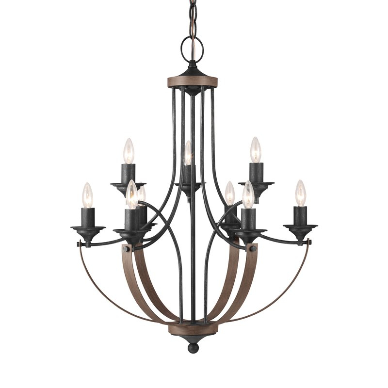 Fashionable Kenedy 9 Light Candle Style Chandeliers Within Camilla 9 Light Candle Style Chandelier (View 7 of 25)