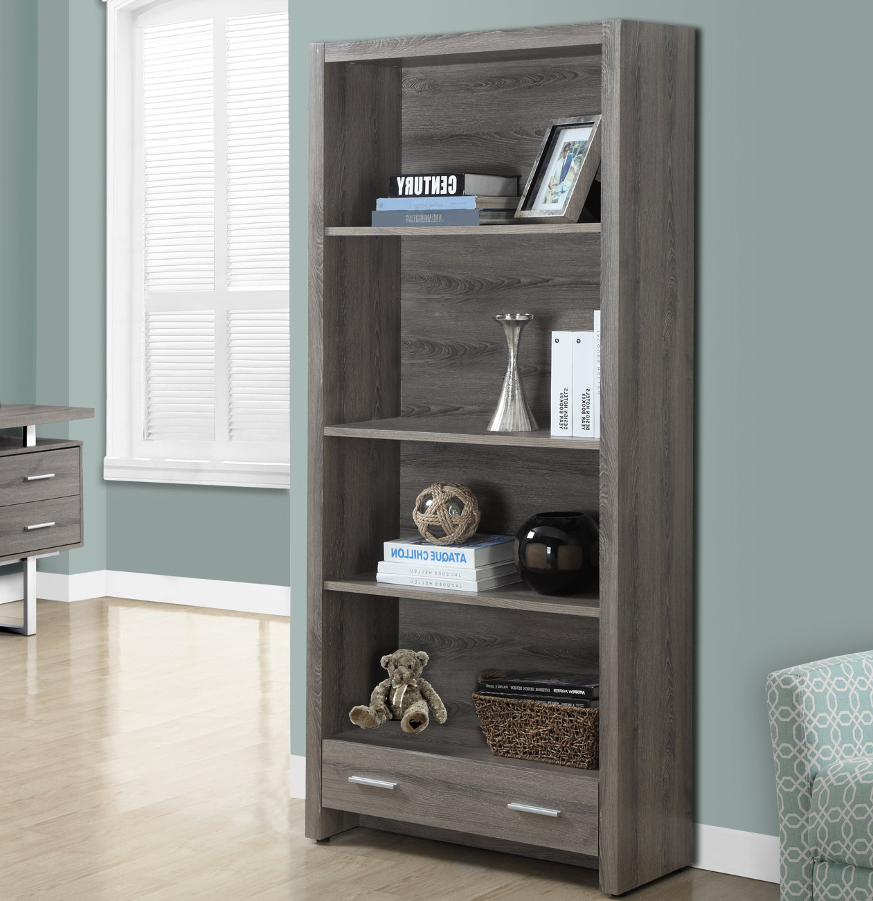 Fashionable Kiley Standard Bookcases Regarding Tressler Standard Bookcase (View 6 of 20)