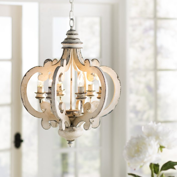 Featured Photo of Lynn 6 Light Geometric Chandeliers