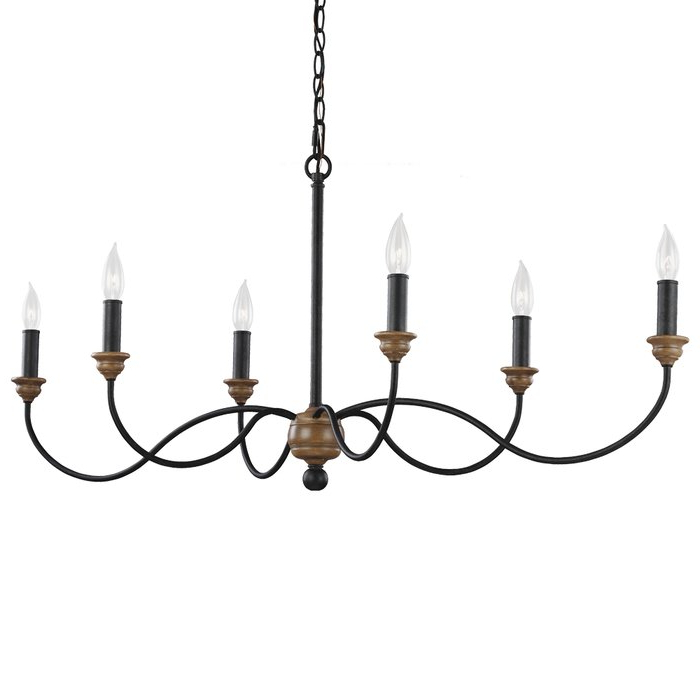 Fashionable Lynn 6 Light Geometric Chandeliers Throughout Sundberg 6 Light Candle Style Chandelier (View 25 of 25)