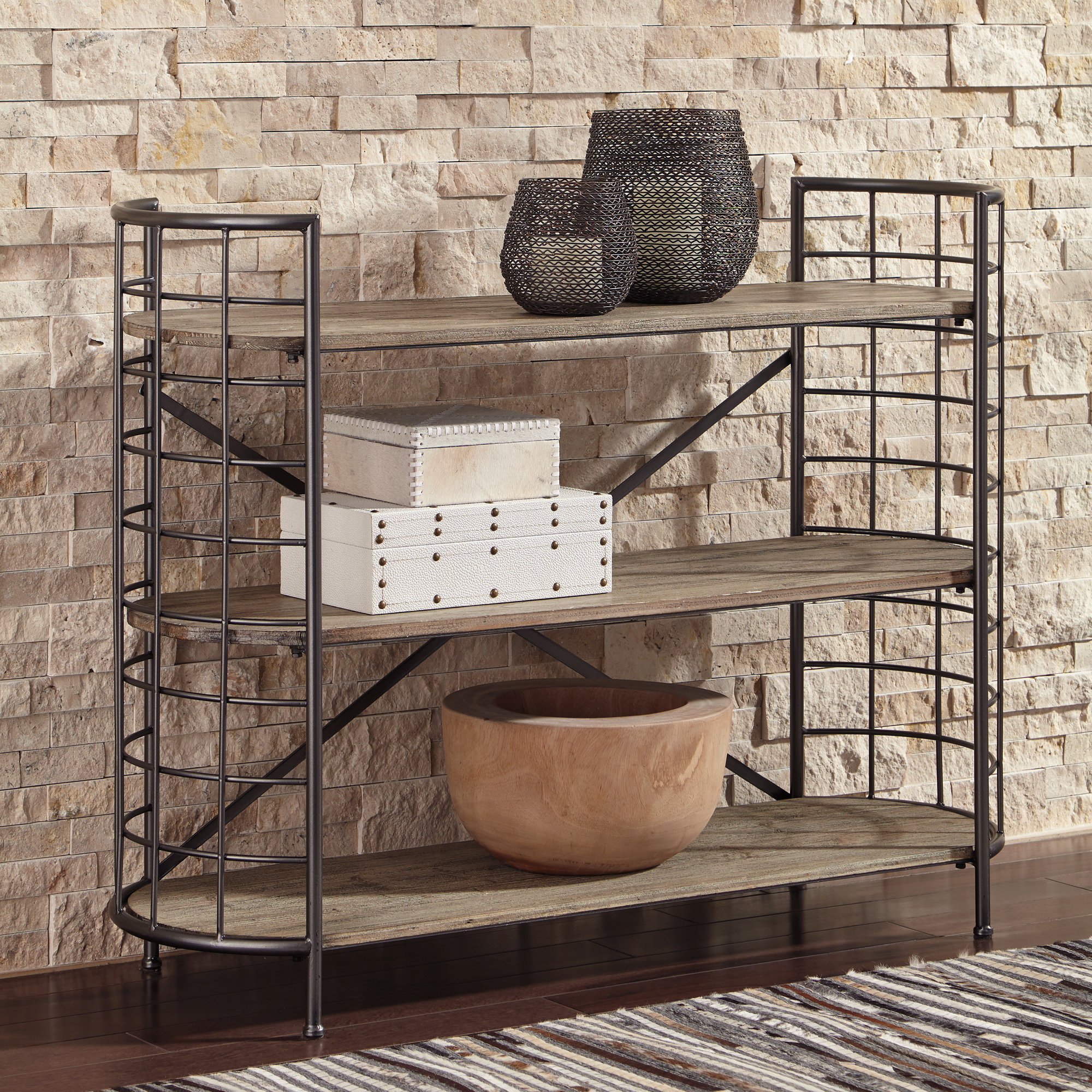 Fashionable Macon Etagere Bookcases Intended For Details About Williston Forge Adler Etagere Bookcase (View 9 of 20)
