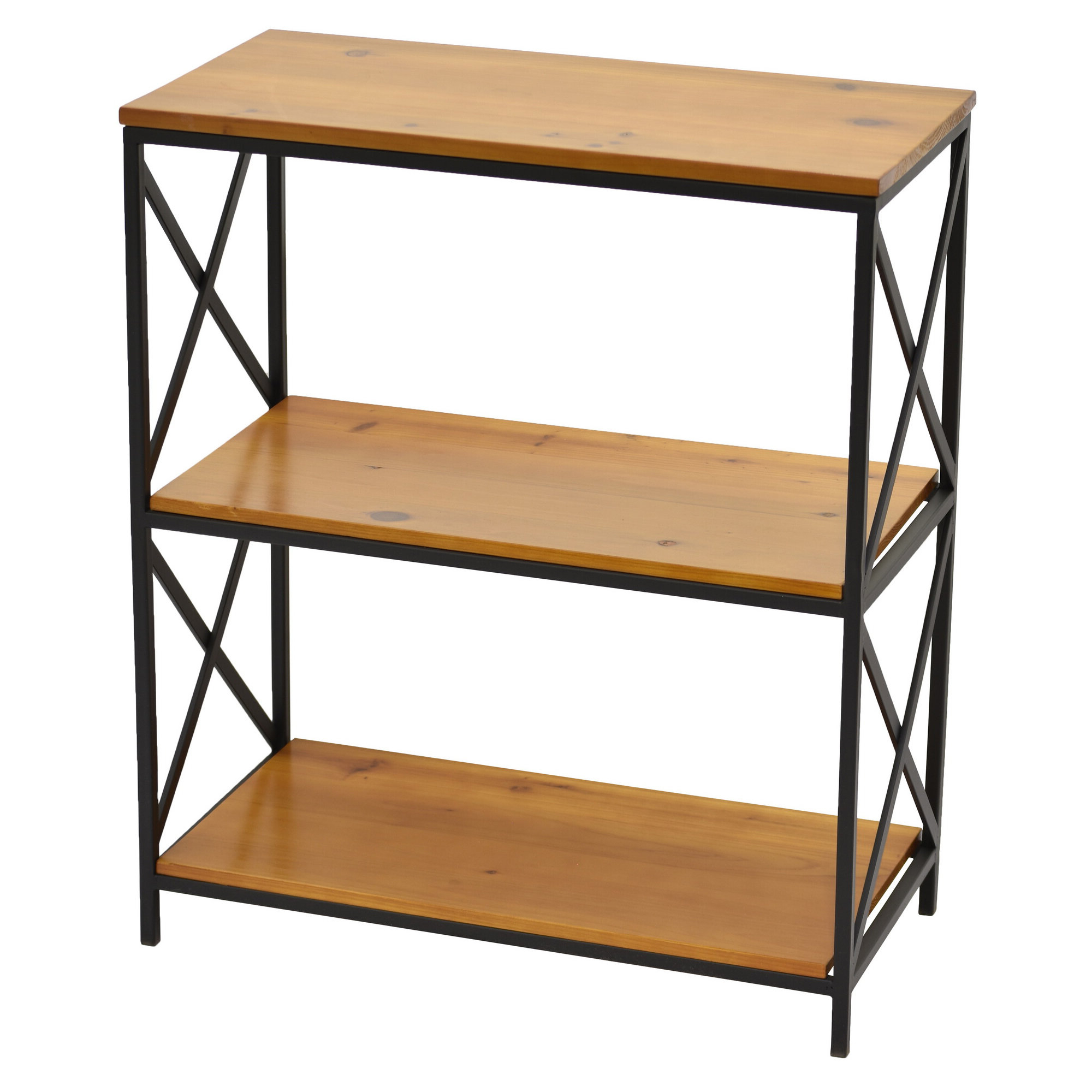 Fashionable Tinoco Storage Shelf Standard Bookcases With Stlaurent Standard Bookcase (View 20 of 20)