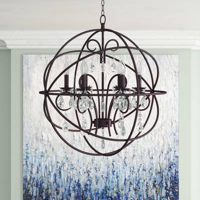 Favorite Alden 3 Light Single Globe Pendants Inside Alden 3 Light Single Globe Chandelier (View 5 of 25)