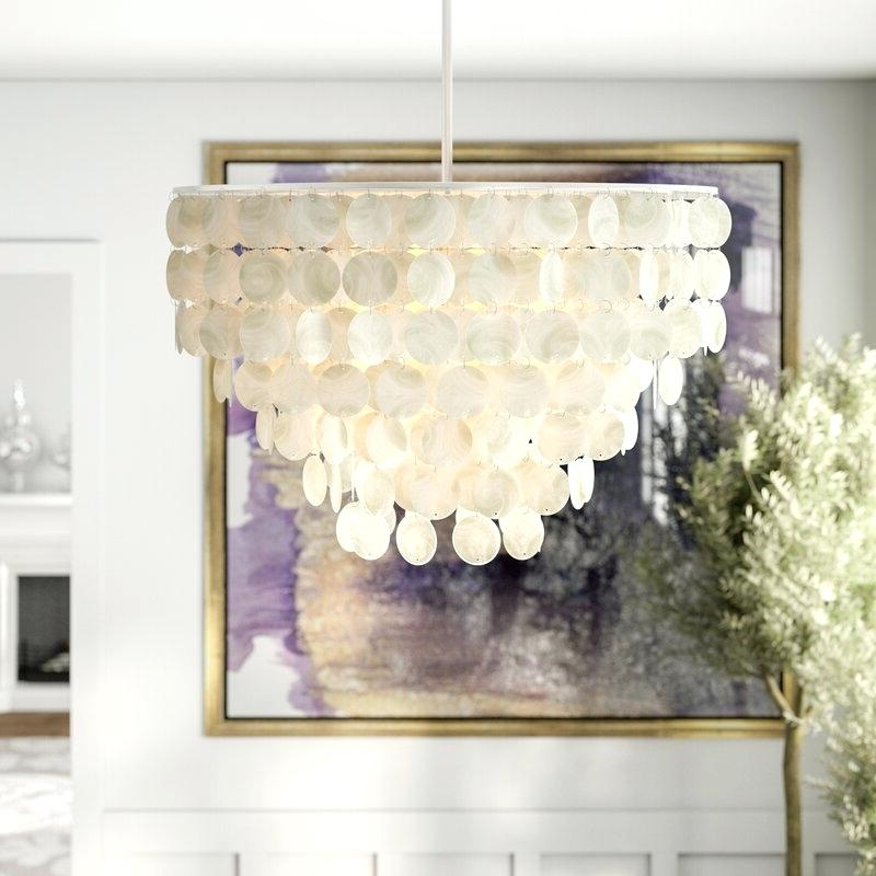 Favorite Aldgate 4 Light Crystal Chandeliers Regarding Metal And Crystal Chandelier – Labtime (View 11 of 25)