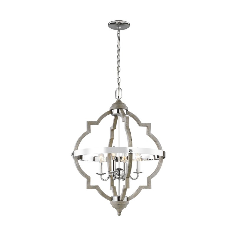 Favorite Bennington 4 Light Candle Style Chandelier With Bennington 4 Light Candle Style Chandeliers (View 11 of 25)