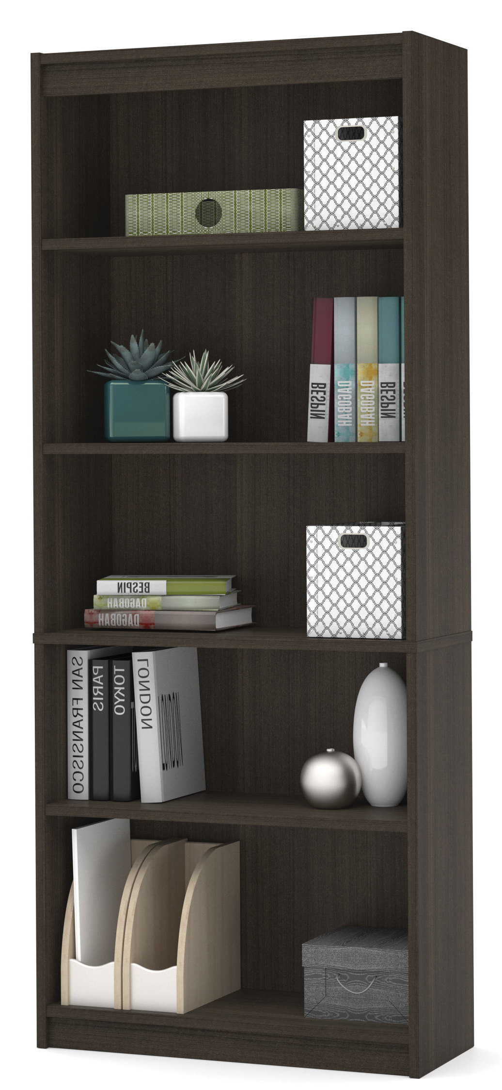 Favorite Cullison Standard Bookcases With Alves Standard Bookcase (View 5 of 20)