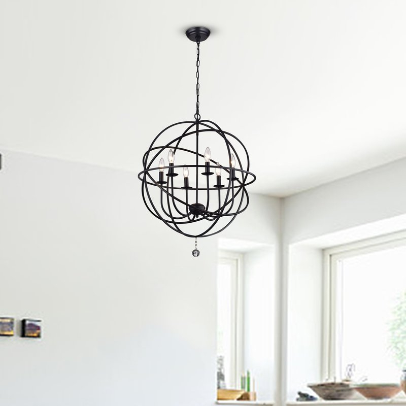 Featured Photo of Eastbourne 6 Light Unique / Statement Chandeliers
