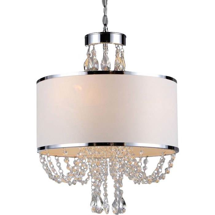 Favorite Gaspard 4 Light Chandelier For Lindsey 4 Light Drum Chandeliers (View 7 of 25)