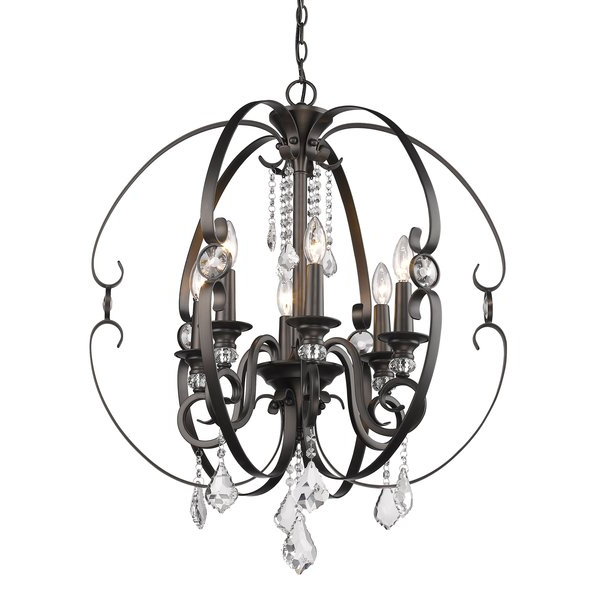 Favorite Hardouin 6 Light Globe Chandelier Within Alden 6 Light Globe Chandeliers (View 16 of 25)