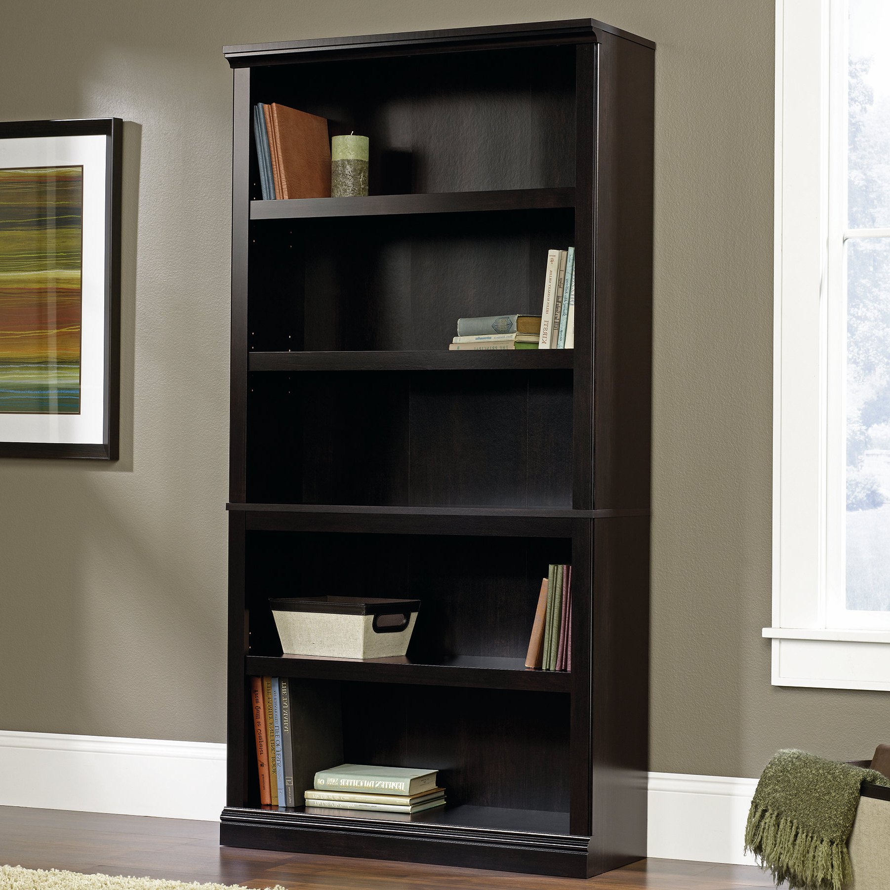 Favorite Kayli Standard Bookcases Inside Abigail Standard Bookcase (View 7 of 20)
