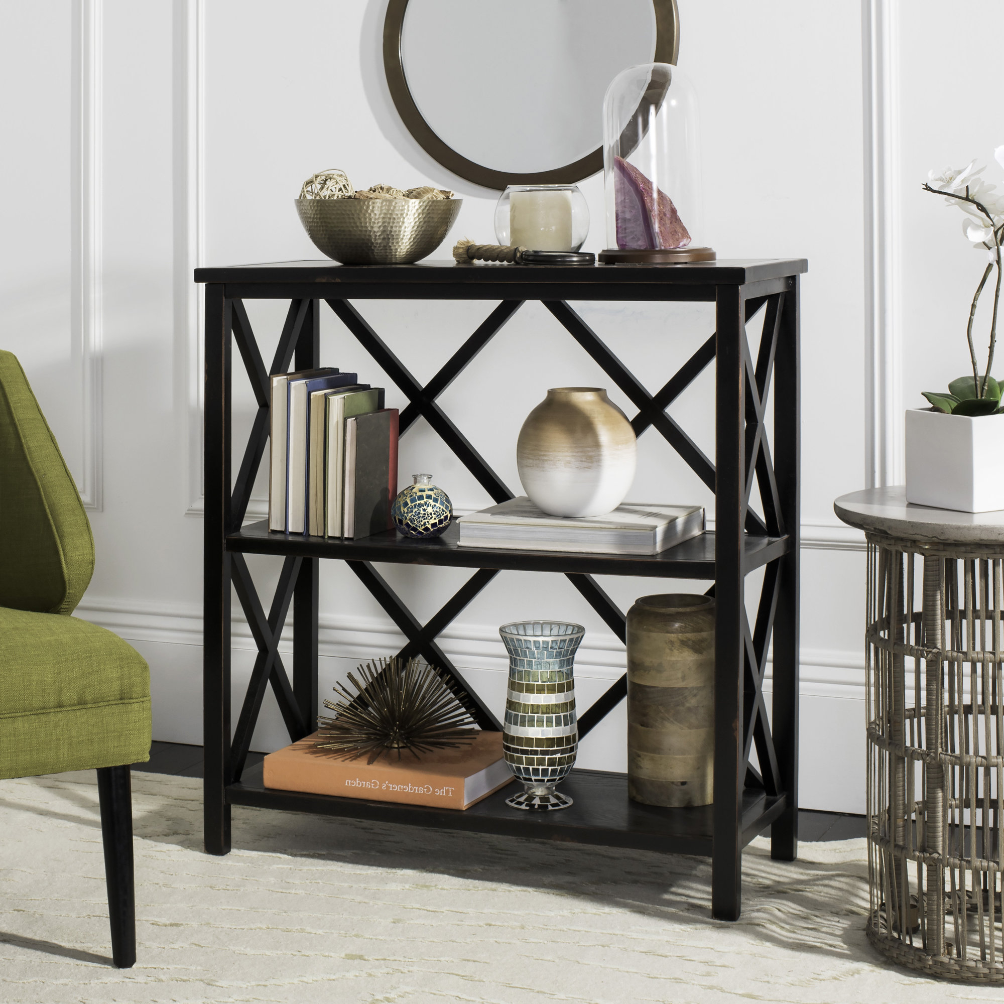 Favorite Kettner Etagere Bookcases With Burford Etagere Bookcase (View 19 of 20)