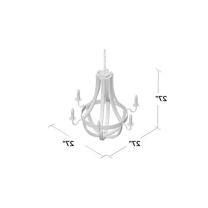Favorite Phifer 6 Light Empire Chandeliers With Regard To Phifer 6 Light Empire Chandelier (View 9 of 25)