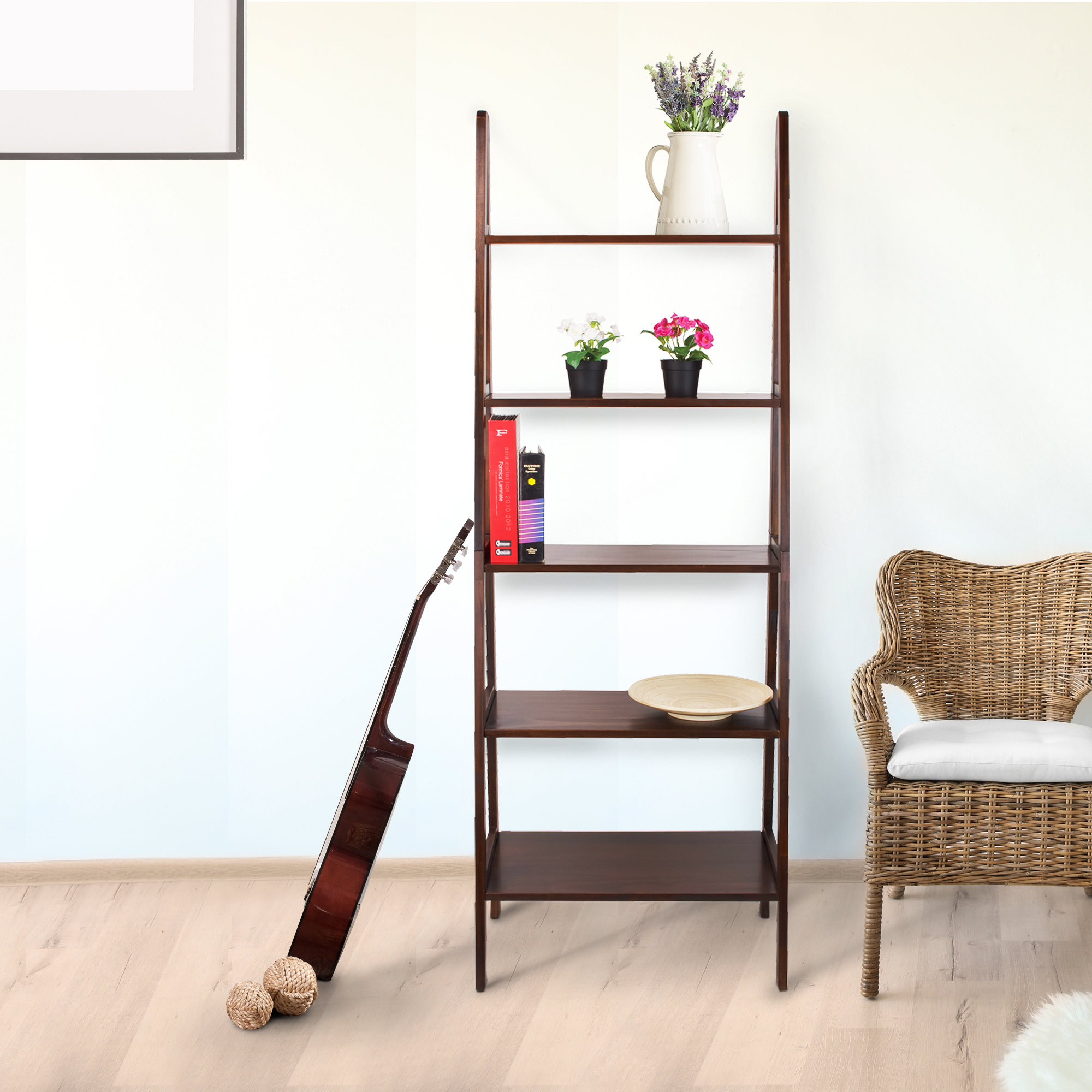 Favorite Ranie Ladder Bookcases Pertaining To Ranie Ladder Bookcase (View 8 of 20)