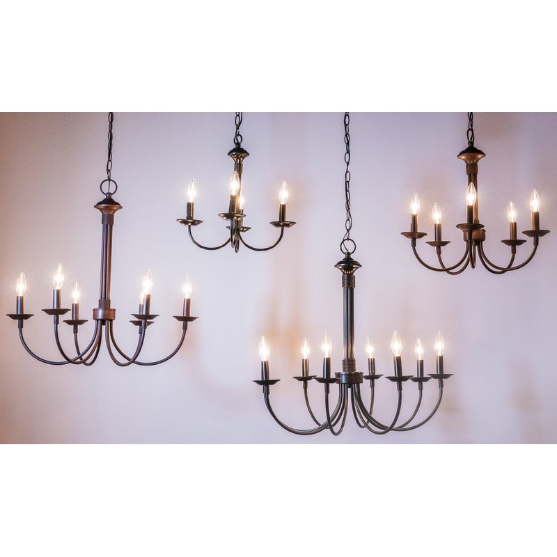 Favorite Shaylee 5 Light Candle Style Chandeliers In Shaylee 5 Light Candle Style Chandelier (View 10 of 25)