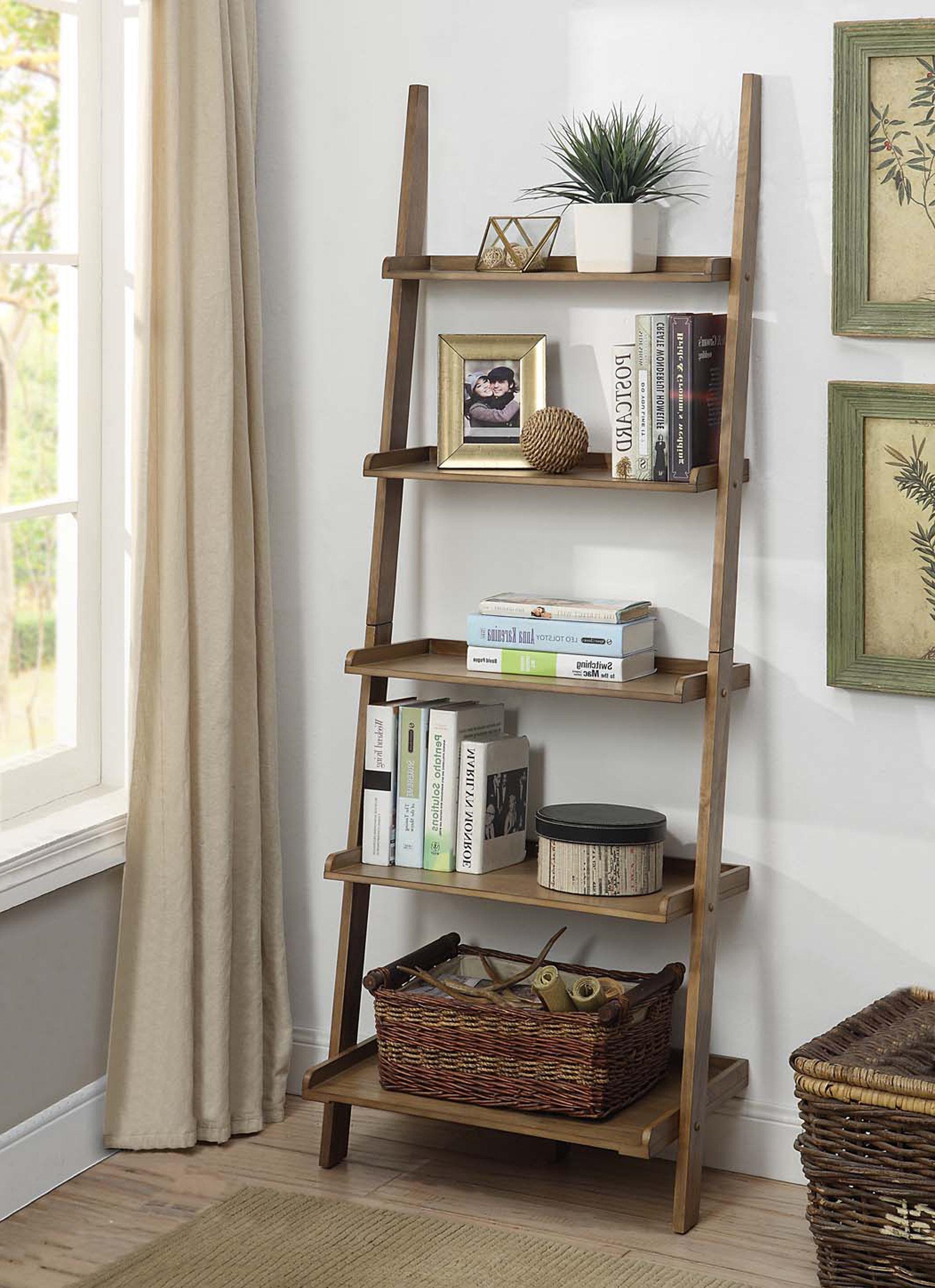 Favorite Three Posts Gilliard Ladder Bookcase Throughout Gilliard Ladder Bookcases (View 6 of 20)