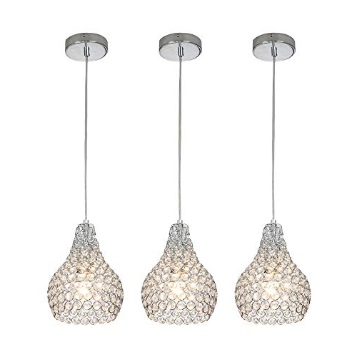 Favorite Whitten 4 Light Crystal Chandeliers Pertaining To Mini Pendant Lights: Amazon (View 6 of 25)
