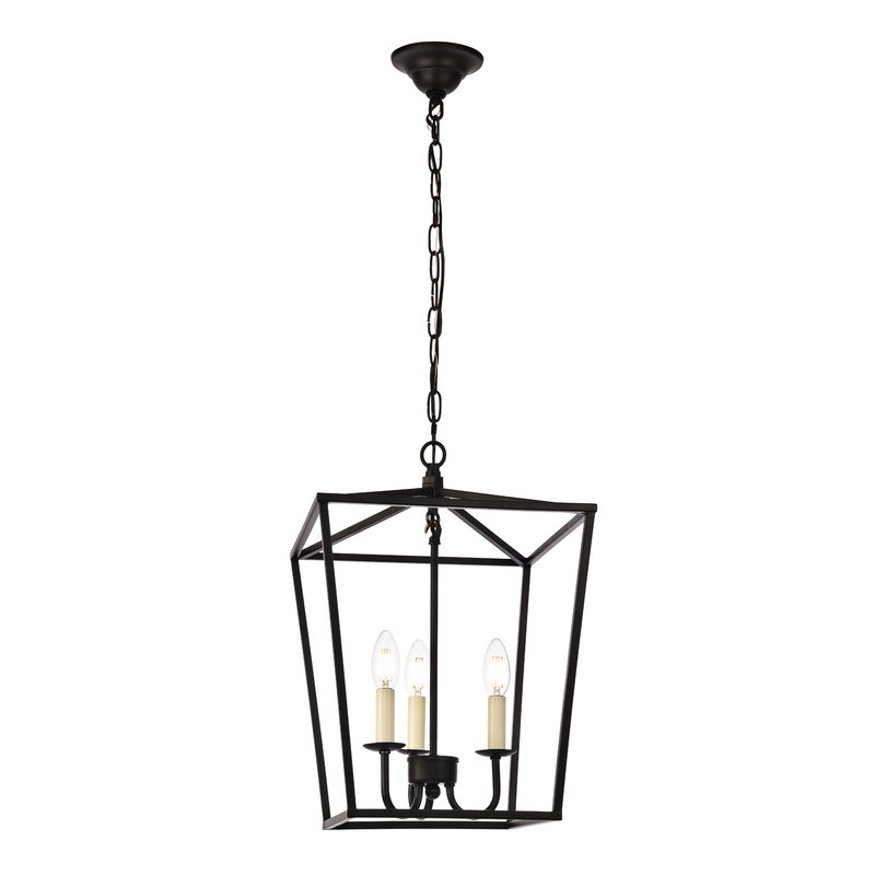 Finnick 3 Light Lantern Pendant With Fashionable Destrey 3 Light Lantern Square/rectangle Pendants (View 17 of 25)