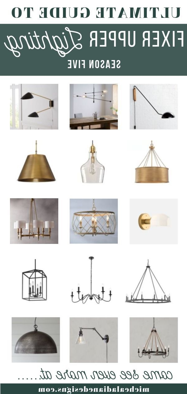 Fixer Upper Style Lighting – Micheala Diane Designs Regarding Well Liked Gaines 9 Light Candle Style Chandeliers (View 7 of 25)
