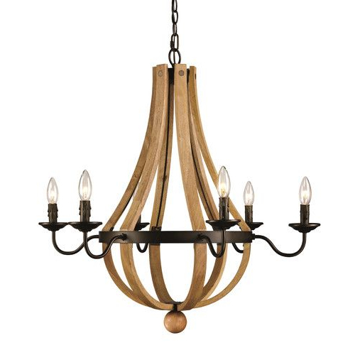 Found It At Wayfair – Dimitri 6 Light Candle Style In Popular Phifer 6 Light Empire Chandeliers (View 18 of 25)