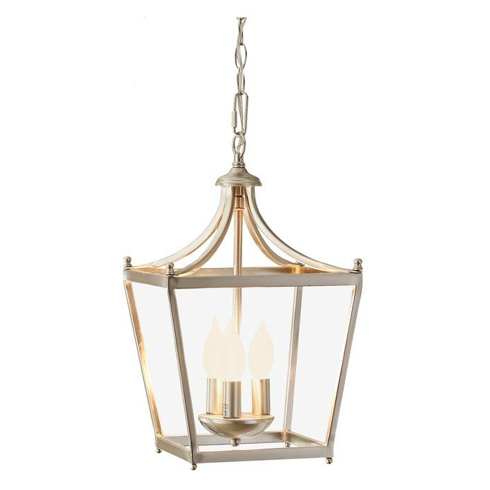 Gabriella 3 Light Lantern Chandelier (View 5 of 25)