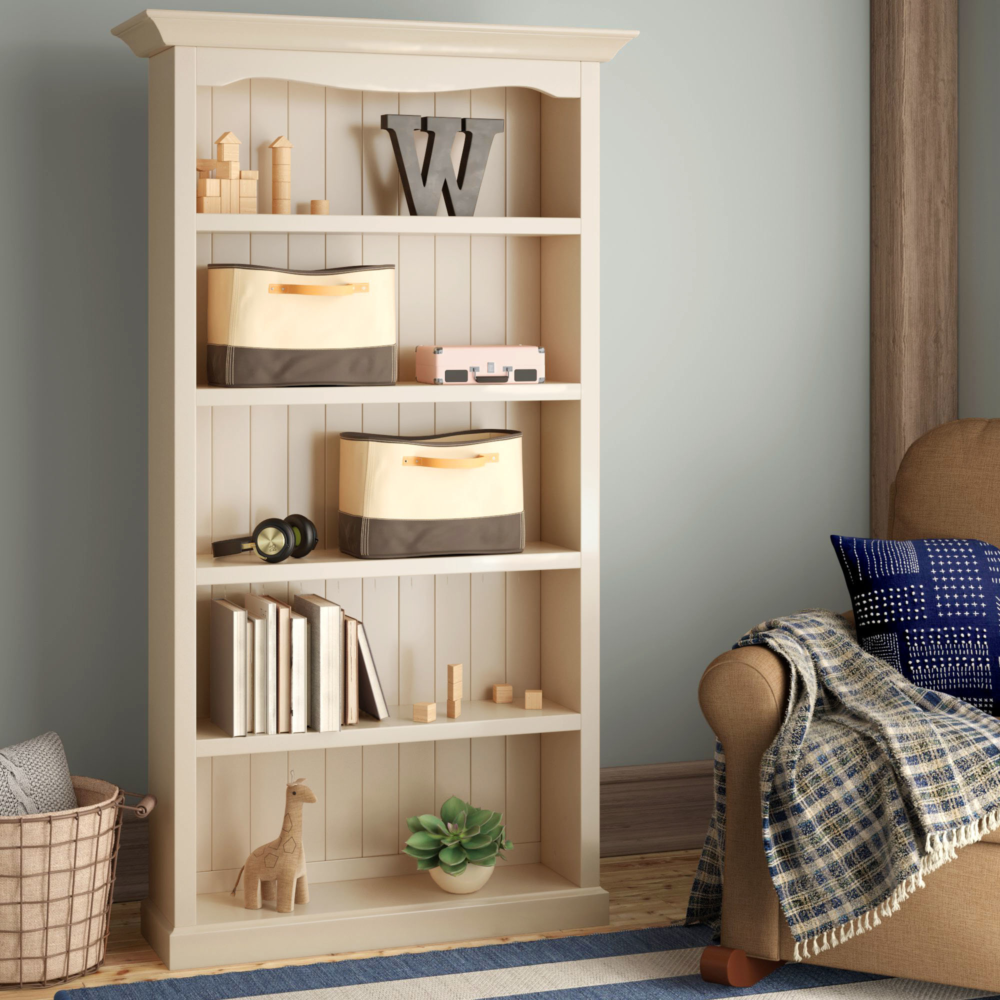 Gertruda Standard Bookcase For Popular Salina Standard Bookcases (View 18 of 20)