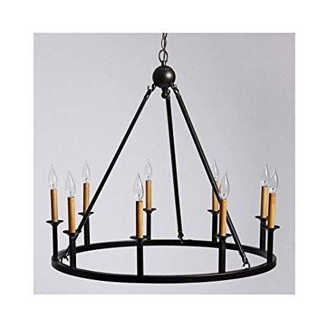 Giverny 9 Light Candle Style Chandeliers Intended For Well Known Old World 9 Light Rustic Chandelier – – Amazon (View 16 of 25)