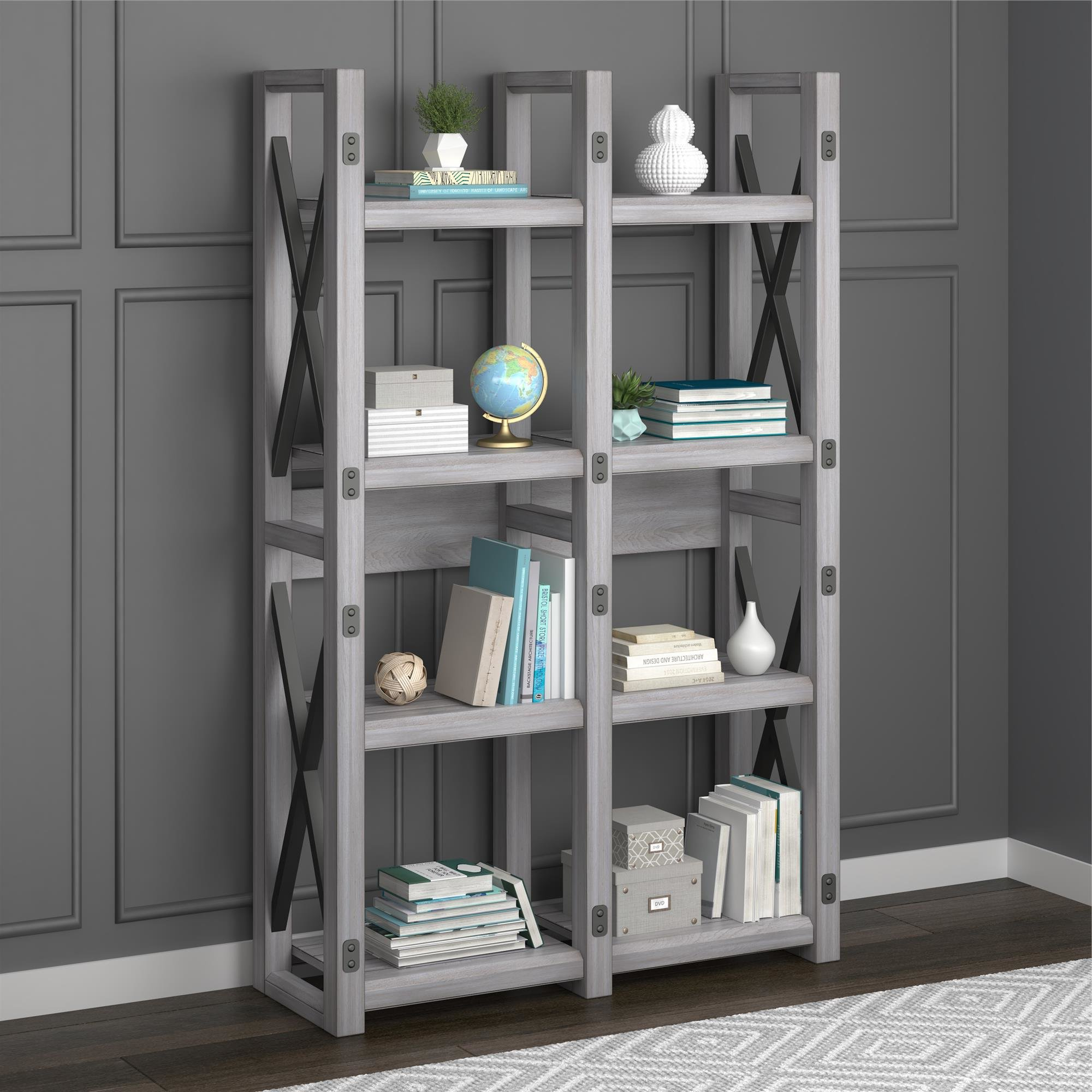 Gladstone Etagere Bookcase For Fashionable Gladstone Etagere Bookcases (View 3 of 20)