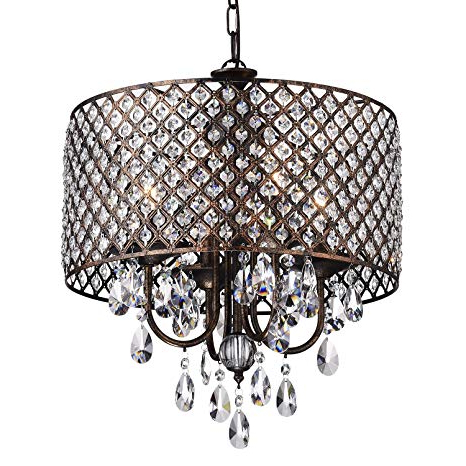 Glam Lighting Pertaining To Aldgate 4 Light Crystal Chandeliers (View 4 of 25)