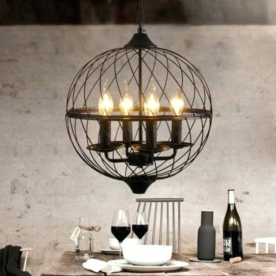 Globe Light Chandelier – Theflex Intended For Well Known Alden 6 Light Globe Chandeliers (View 22 of 25)