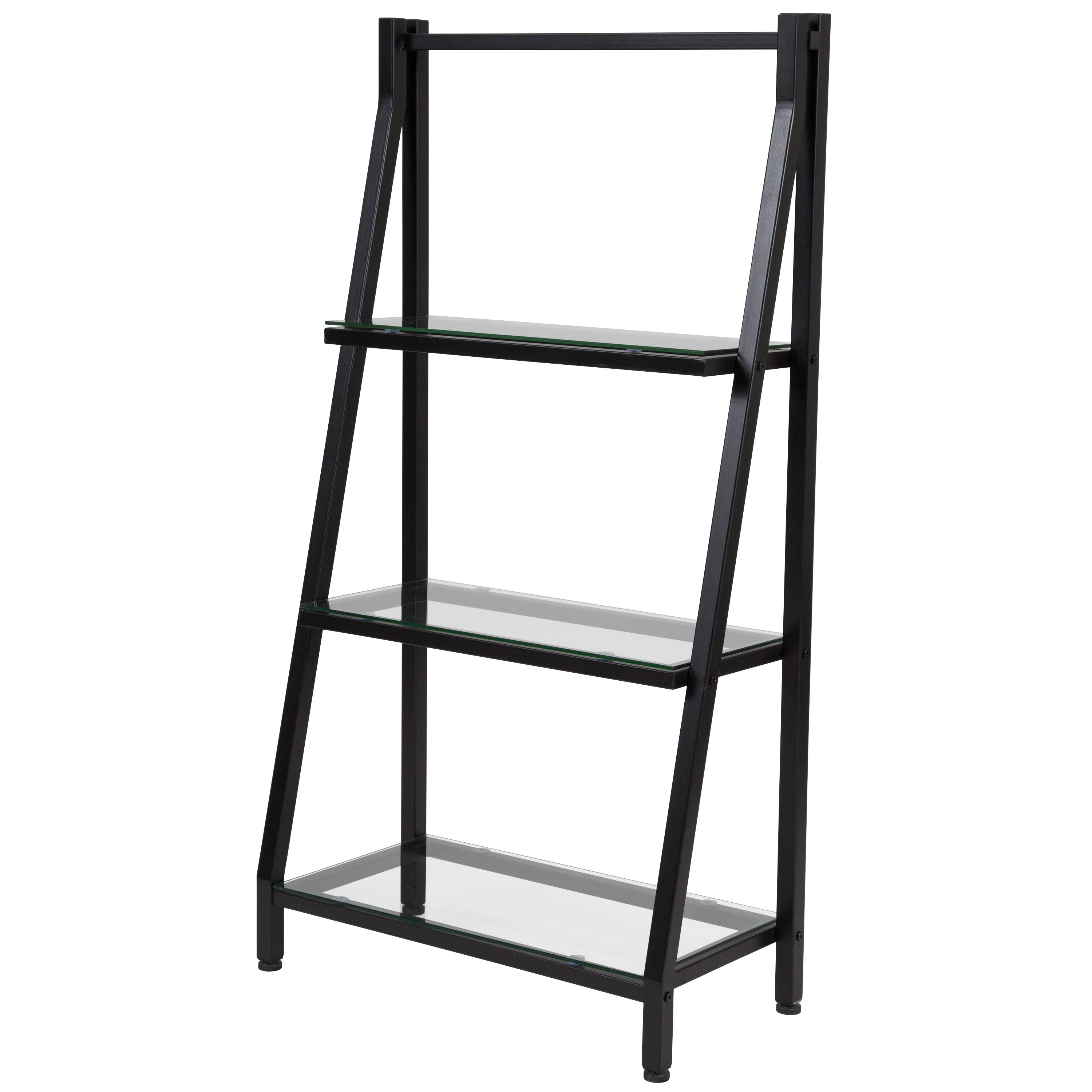 Godwin Ladder Bookcase In Fashionable Riddleville Ladder Bookcases (View 8 of 20)