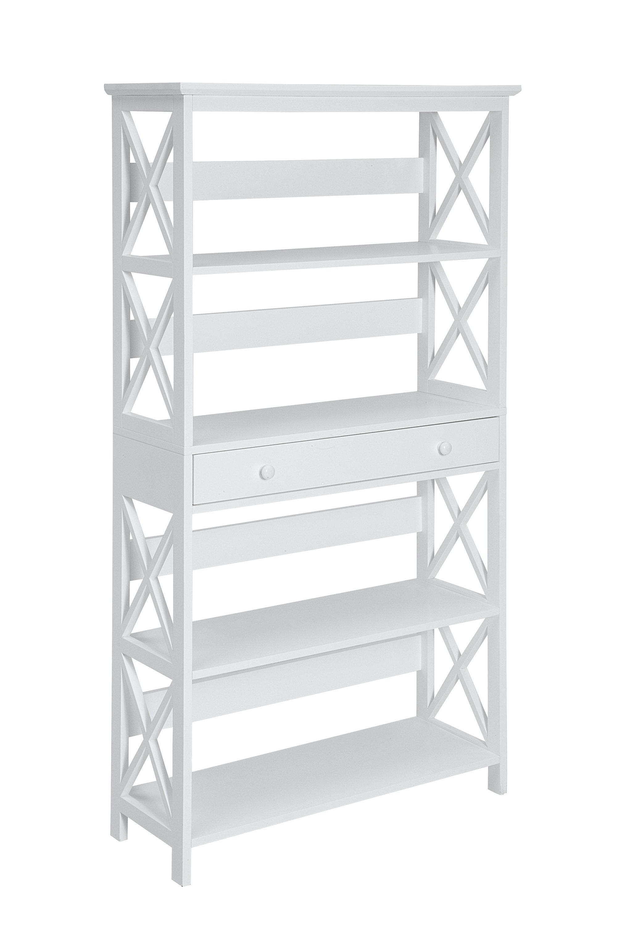 Gracelynn 5 Tier Etagere Bookcase Regarding Most Recently Released Gracelynn 5 Tier Etagere Bookcases (View 4 of 20)