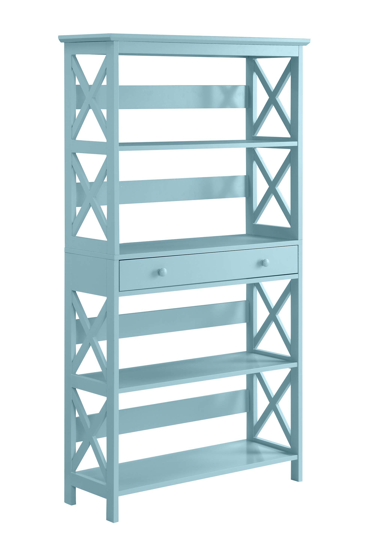 Gracelynn 5 Tier Etagere Bookcases Intended For Well Known Gracelynn 5 Tier Etagere Bookcase (View 6 of 20)