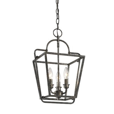 Gracie Oaks Seraphina 3 Light Lantern Pendant In 2019 In Latest Finnick 3 Light Lantern Pendants (View 13 of 25)