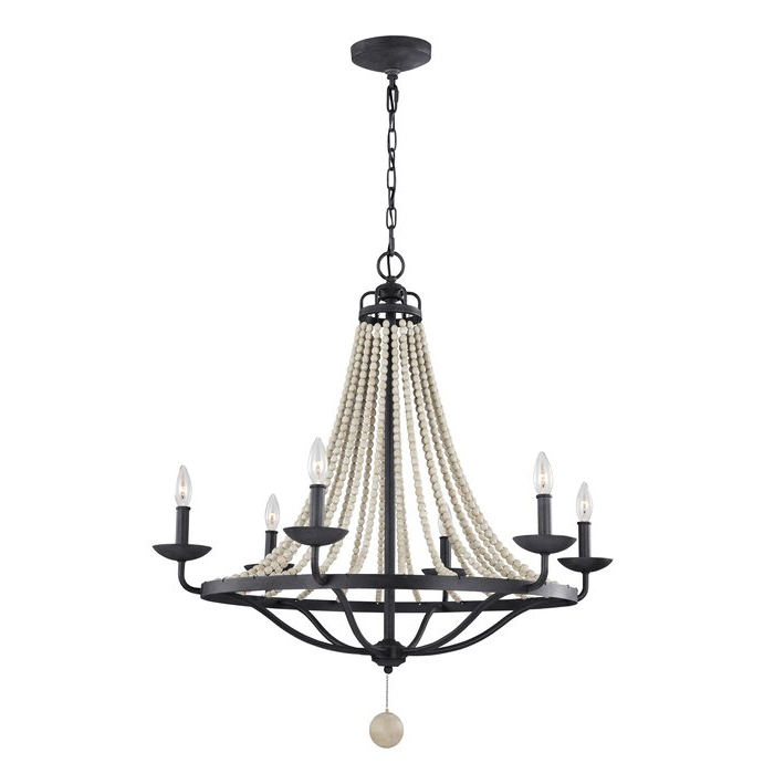 Granger 6 Light Empire Chandelier For Newest Diaz 6 Light Candle Style Chandeliers (View 10 of 25)