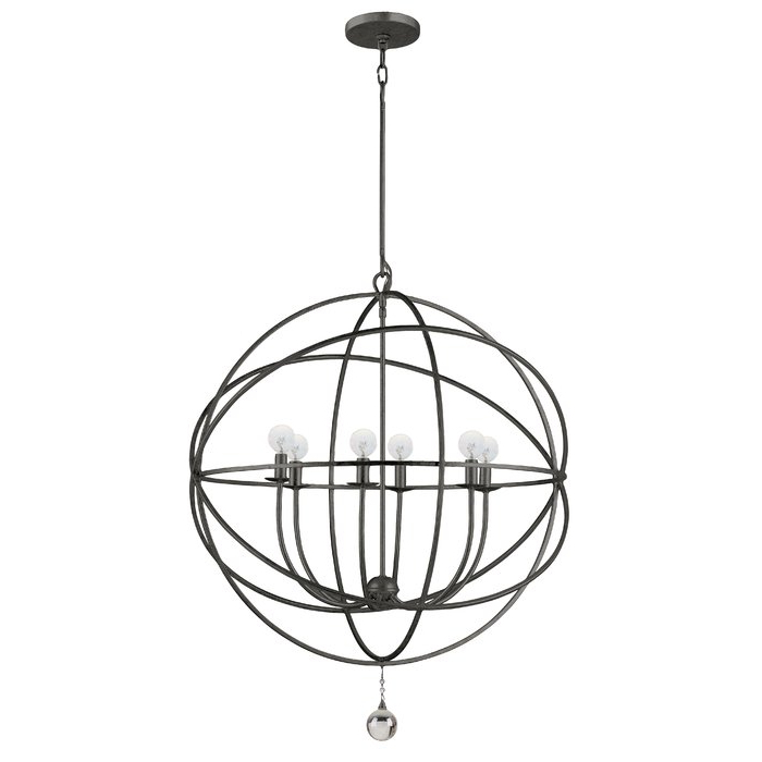 Gregoire 6 Light Globe Chandelier With Most Recently Released Gregoire 6 Light Globe Chandeliers (View 8 of 25)