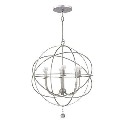 Gregoire 6 Light Globe Chandeliers Inside Most Popular Gregoire 6 Light Globe Chandelier (View 12 of 25)