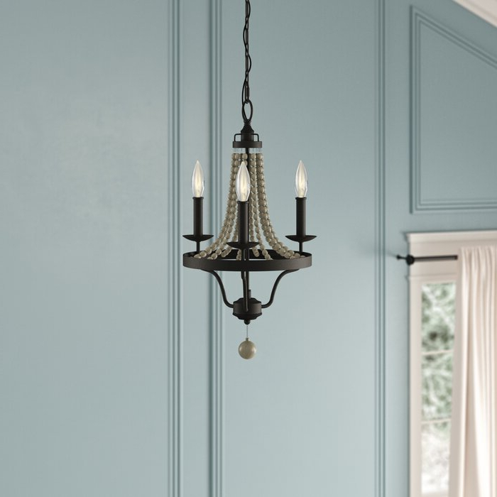 Hatfield 3 Light Novelty Chandeliers With Best And Newest Granger 3 Light Empire Chandelier (View 10 of 25)