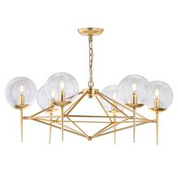 Havenly With Well Liked Kenedy 9 Light Candle Style Chandeliers (View 9 of 25)