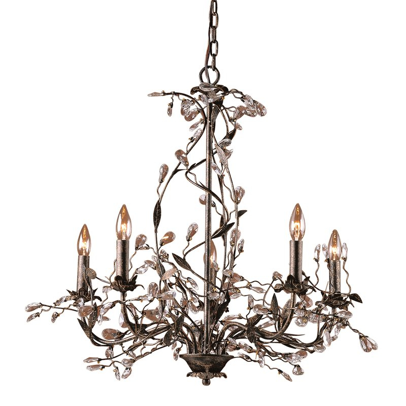 Hesse 5 Light Candle Style Chandeliers With Regard To Popular Lorraine 5 Light Chandelier (View 14 of 25)